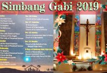 Simbang Gabi Schedule in Singapore 2019